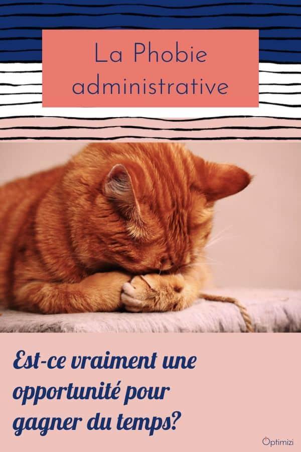 Si la phobie administrative existe vraiment, est ce une menace ou une réelle opportunité pour gagner du temps? Elle n'a pas que des avantages.