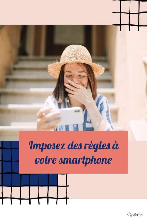 Ne vous laissez plus voler votre temps par votre smartphone chéri. Avec quelques règles de bonne conduite vous pouvez mieux vous entendre.