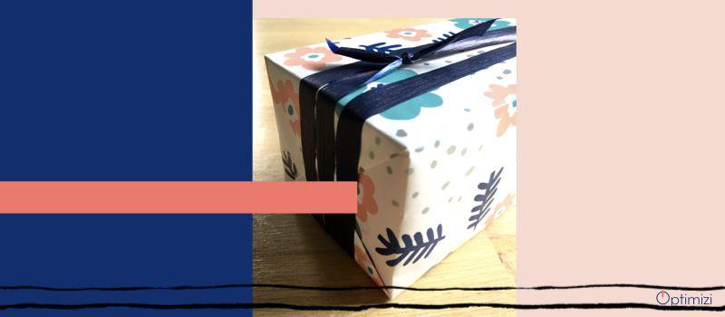 la paquet cadeau idéal en 3 étapes essentielles