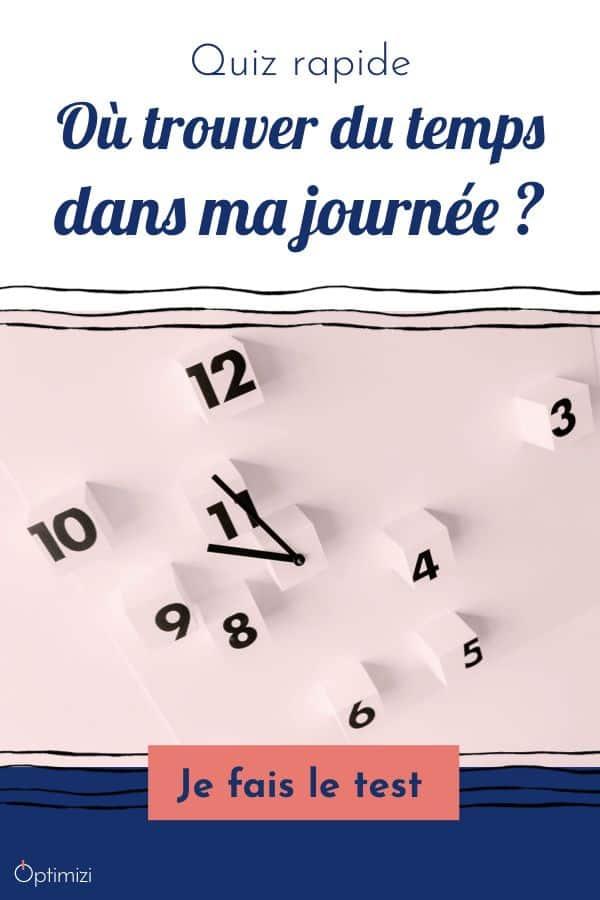 Découvre comment trouver du temps dans ta journée en moins de 2 minutes et sans email